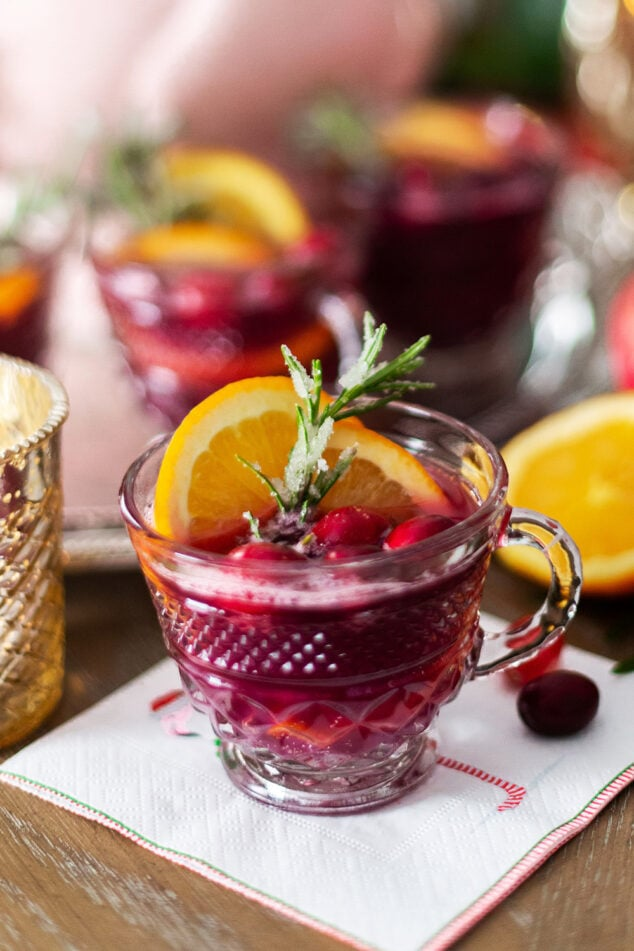 Cranberry Pomegranate Christmas Punch