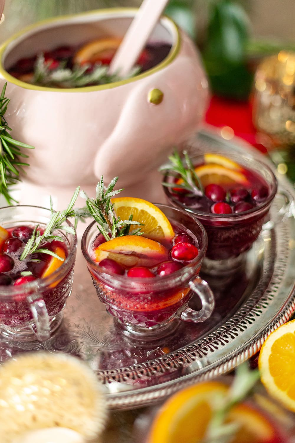 Cranberry Citrus Pomegranate Punch