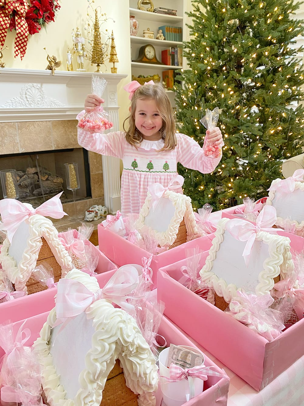 5th Annual Gingerbread House Tea Party {To-Go!}