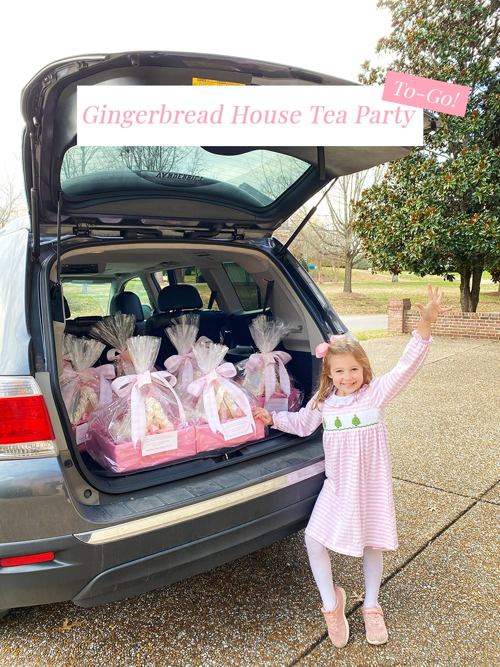 Gingerbread House Tea Party To-Go!
