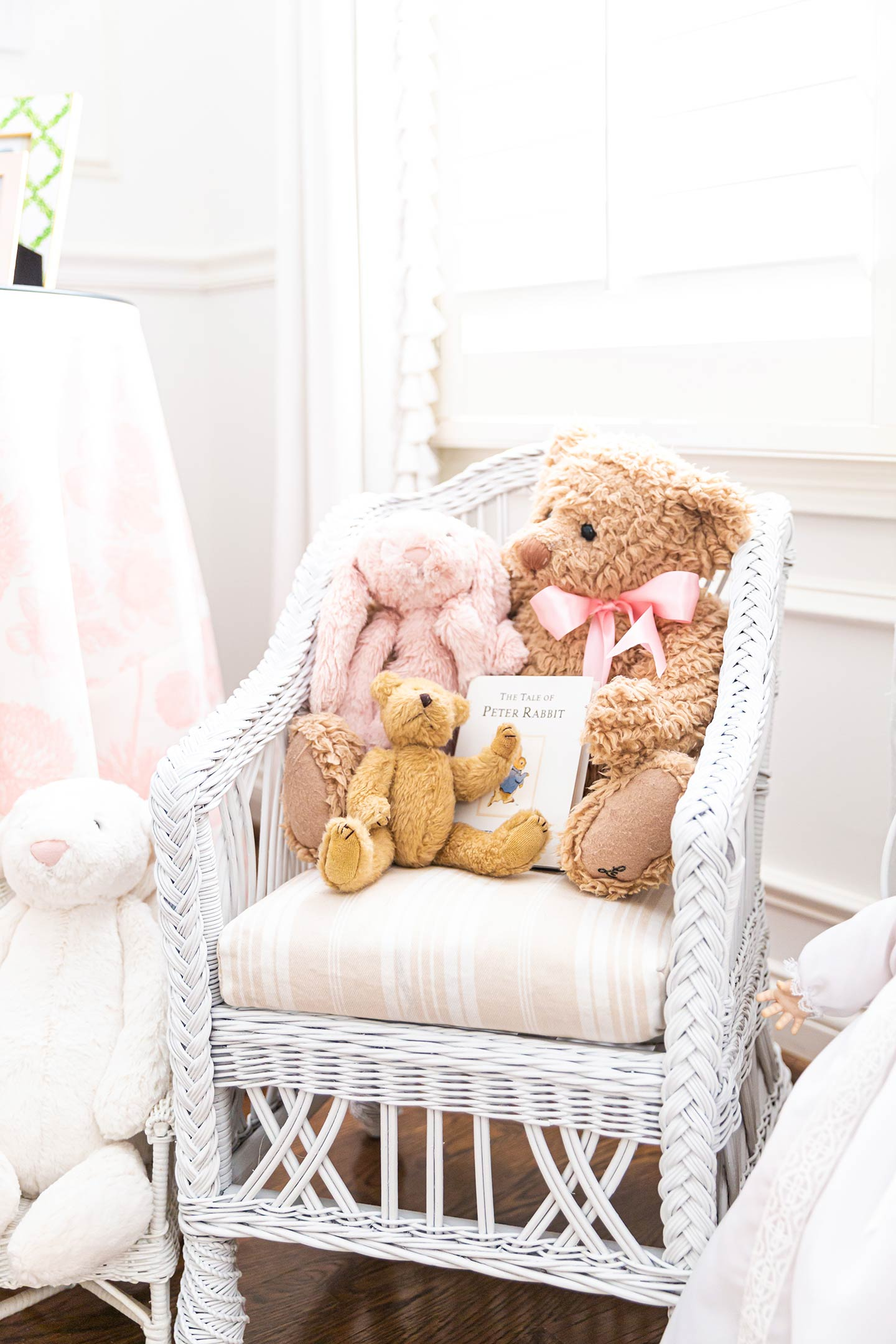 Ivy's Pink and White Nursery Tour