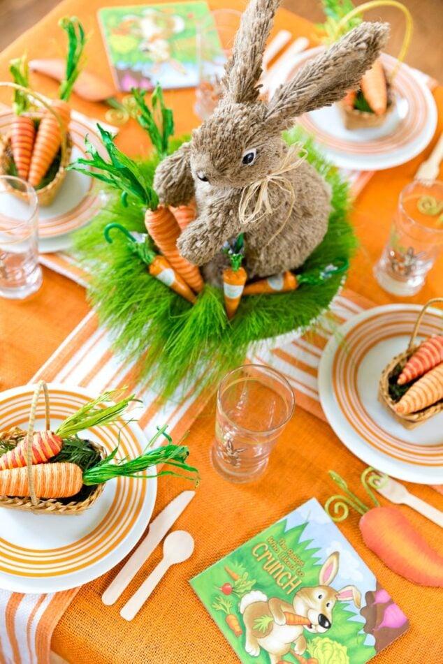 Festive Easter Kids Table