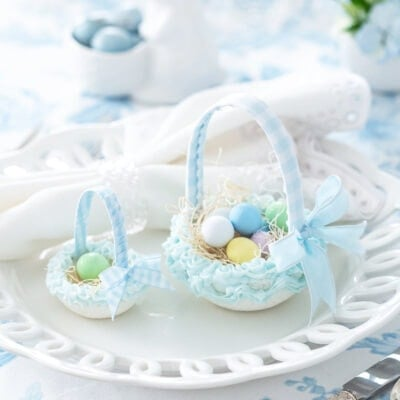 DIY Easter Sugar Baskets