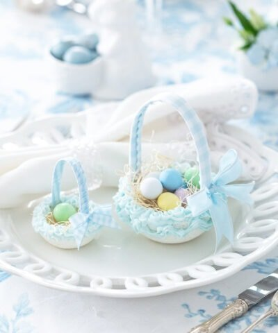 DIY Easter Sugar Baskets