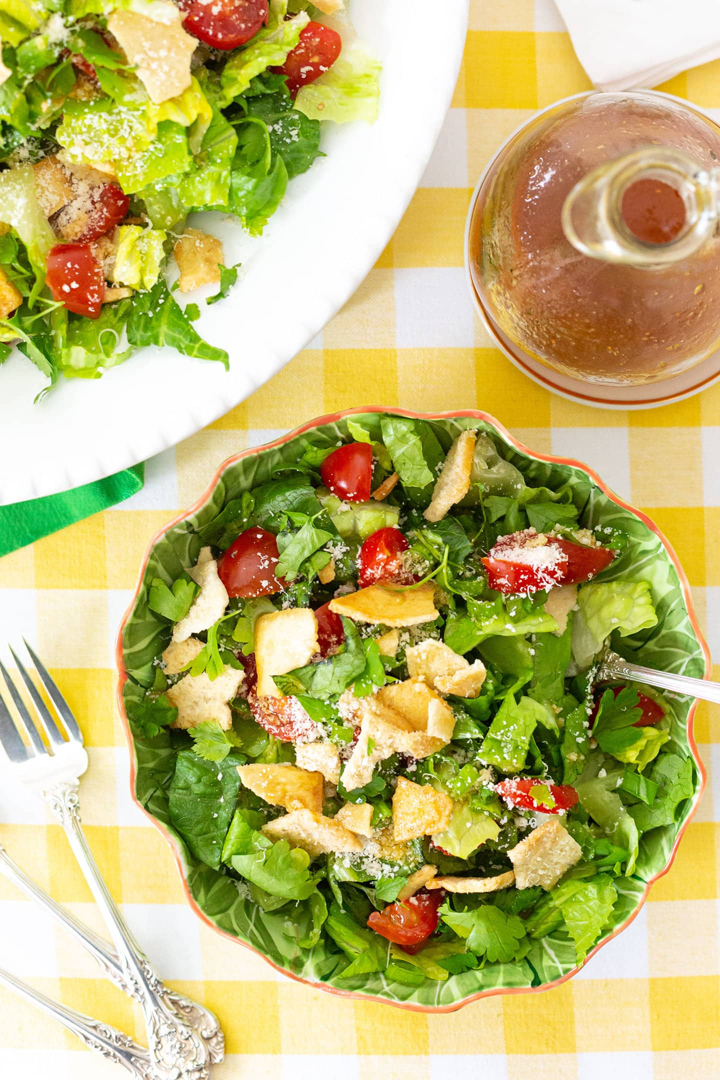 Augusta's Green Jacket Salad.