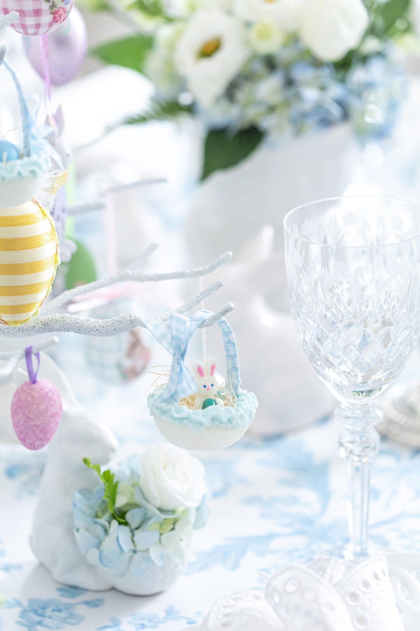 Easter sugar basket