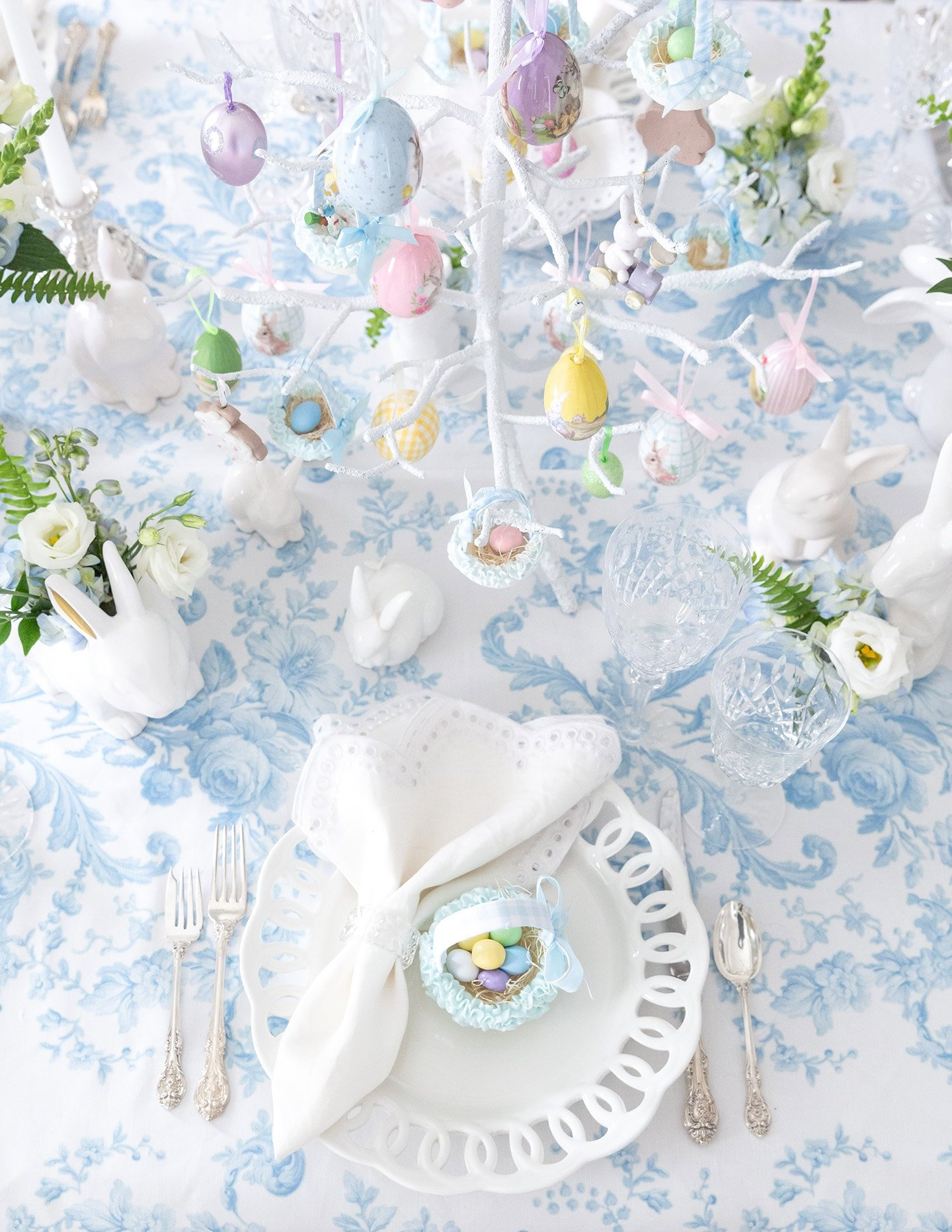 Southern Easter Brunch Tablescape