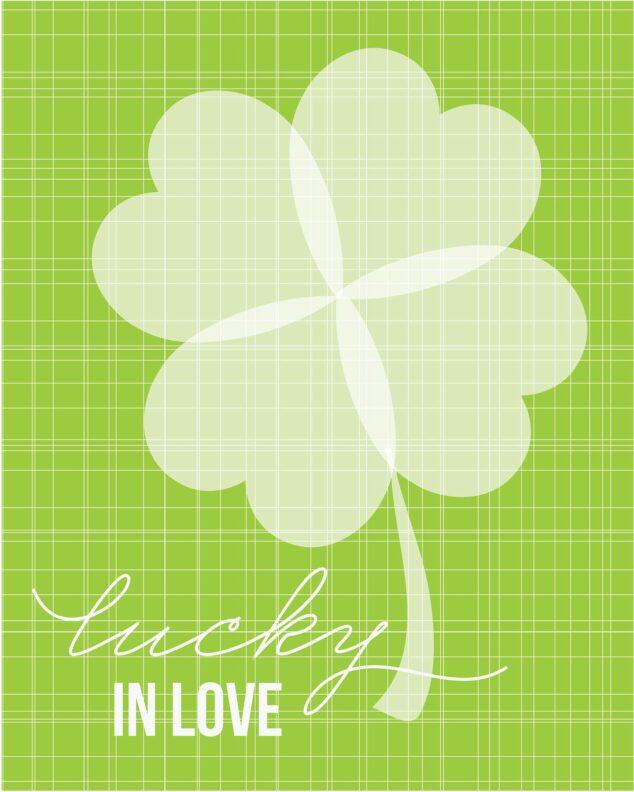 St Patricks Day Printable Poster.