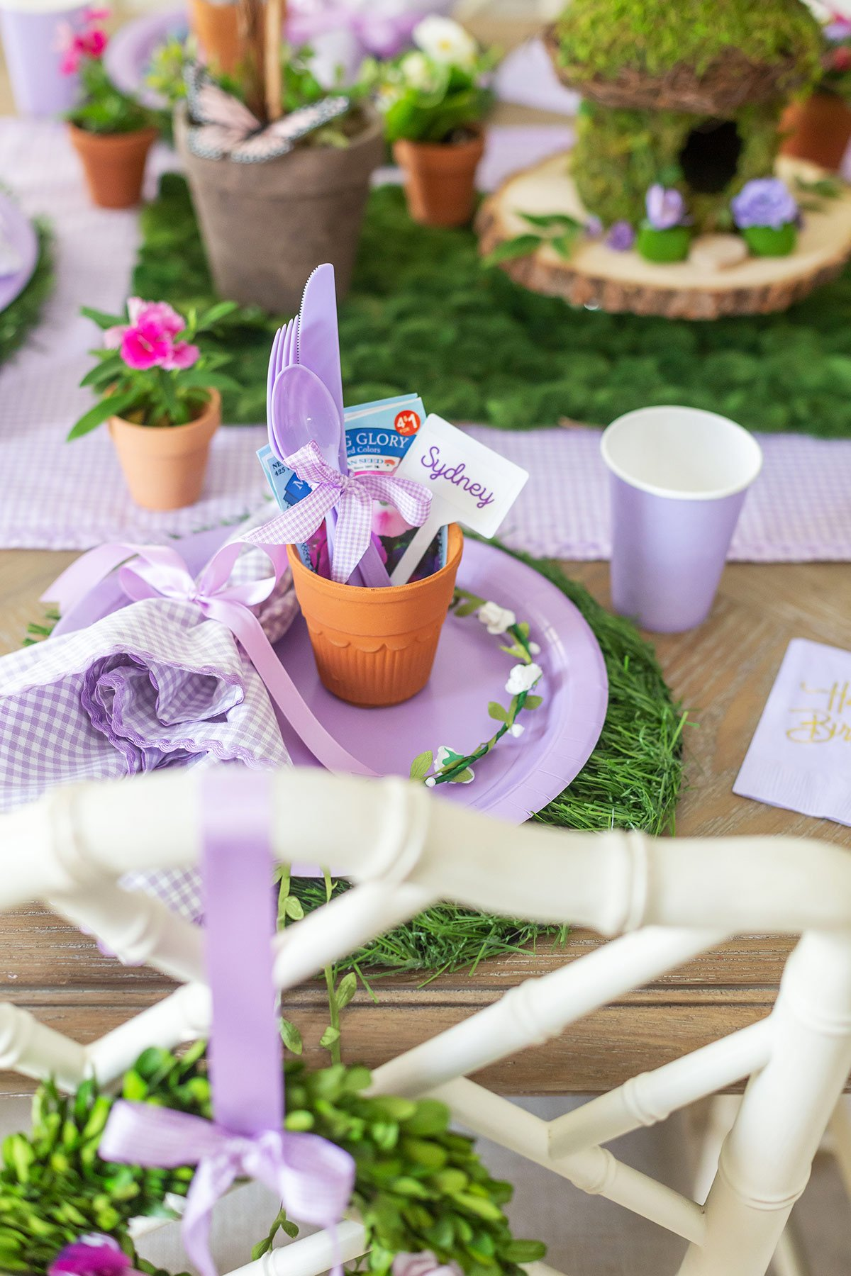 Garden Party Place setting