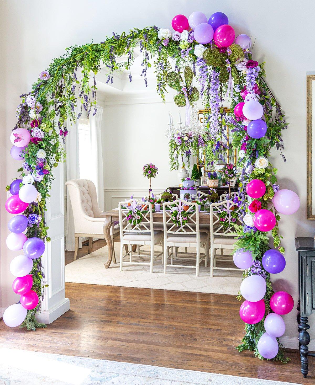Garden Party Flower Arch