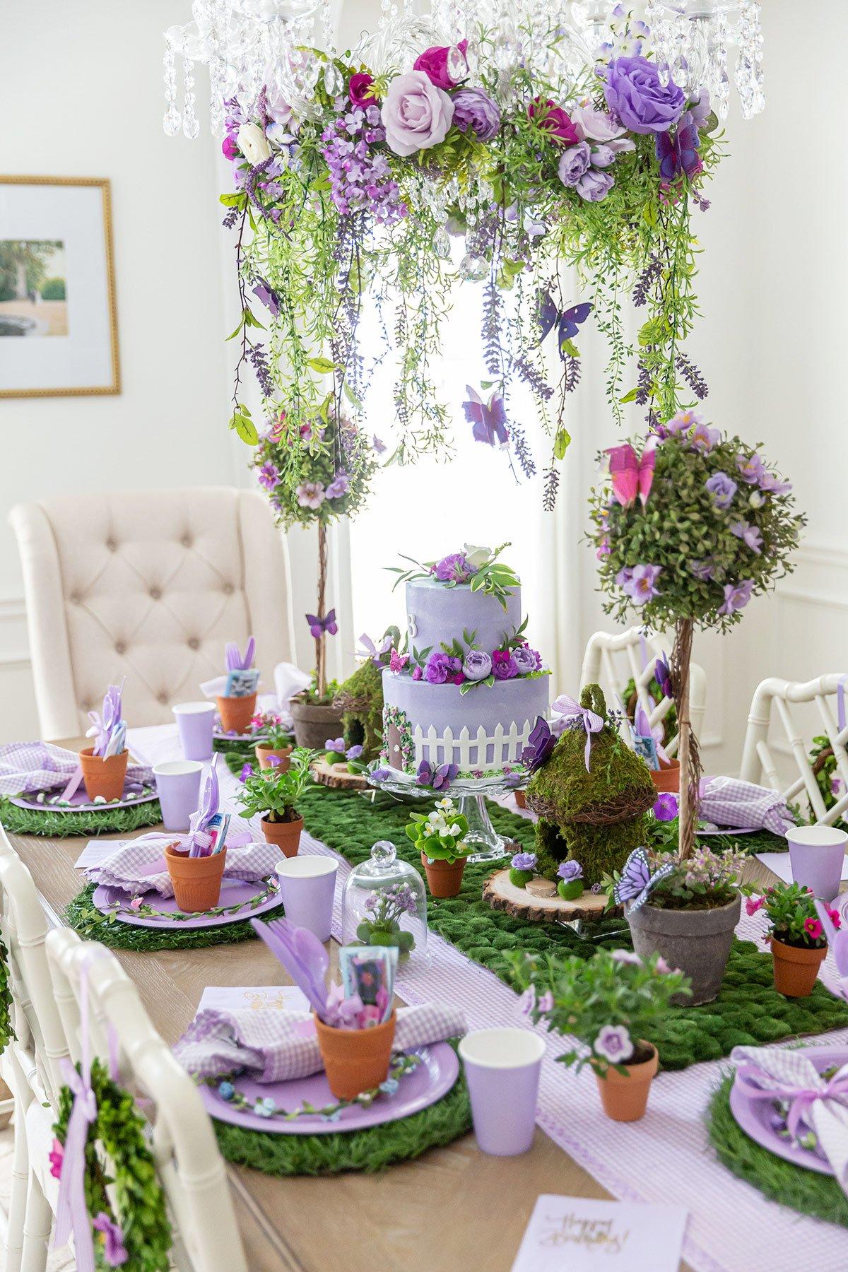 Children's Birthday Party Table