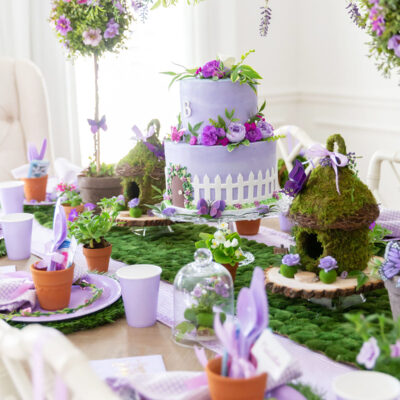 Gardening Party Table