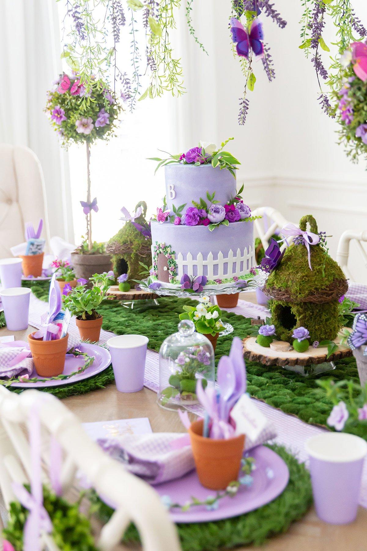 Enchanted Garden 7th Birthday Party