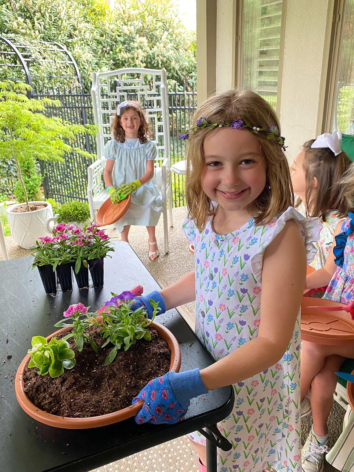 Kids Gardening Party