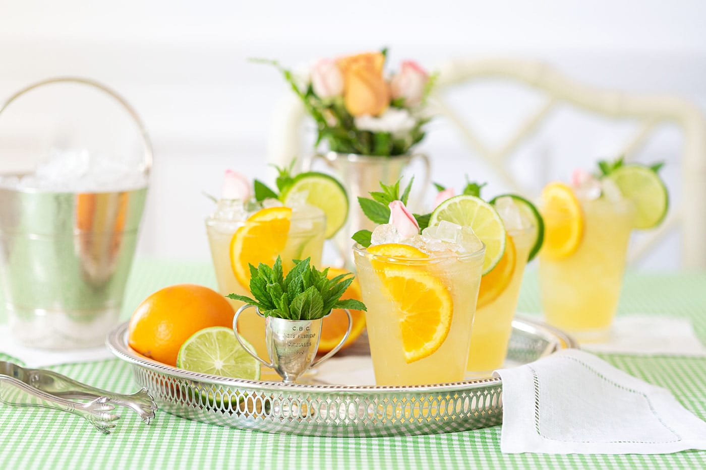 Mint Julep Punch Recipe