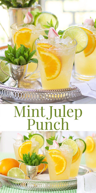 Mint Julep Punch