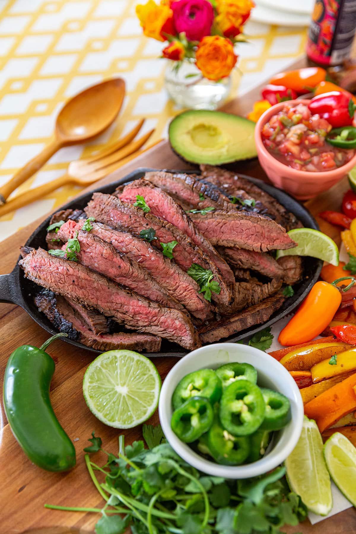 Homemade Steak Fajitas