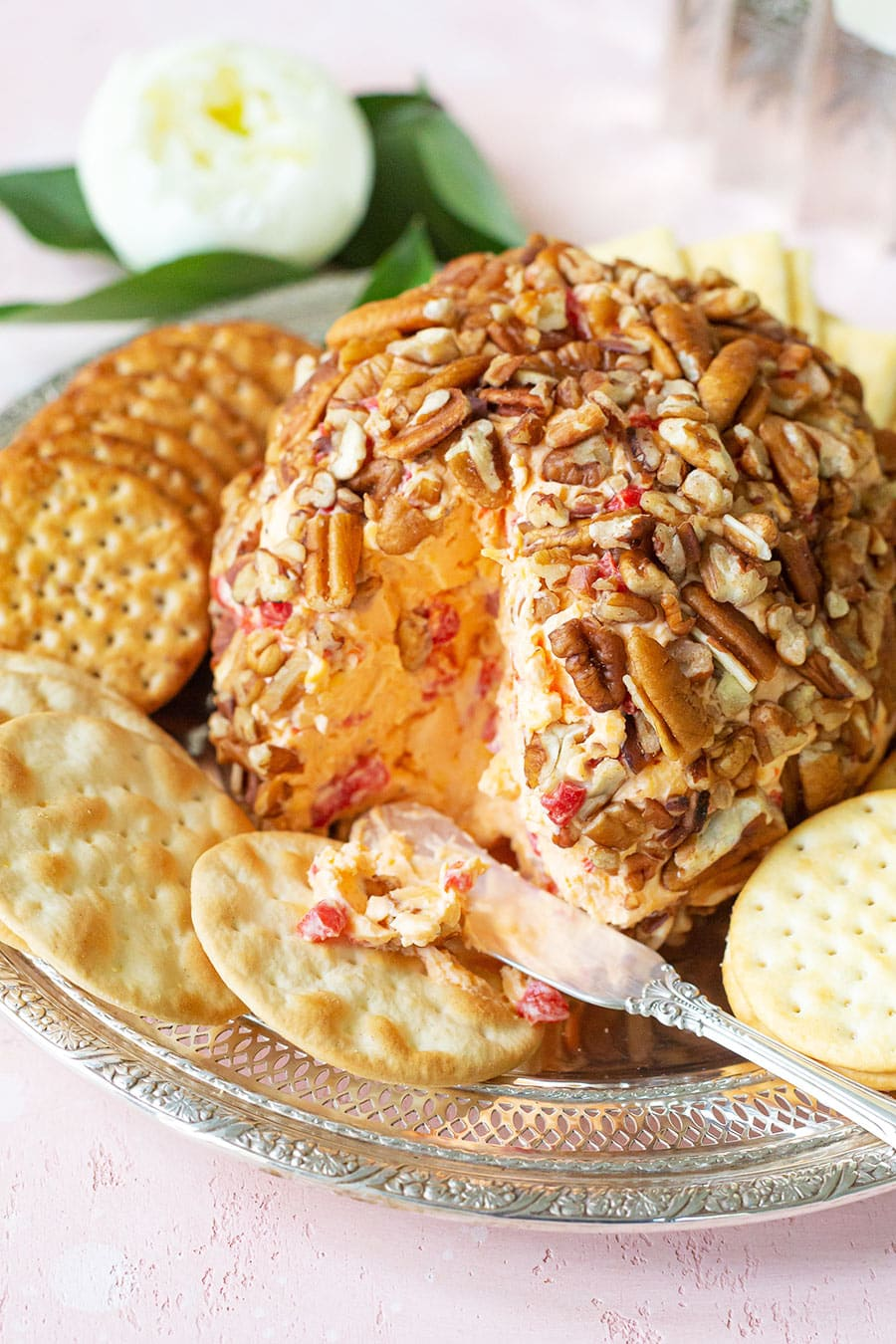Classic Southern Pimento Cheese Ball