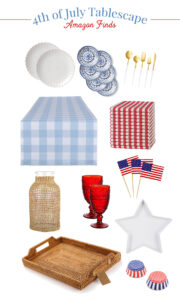 4th of July Tablescape Decor Finds