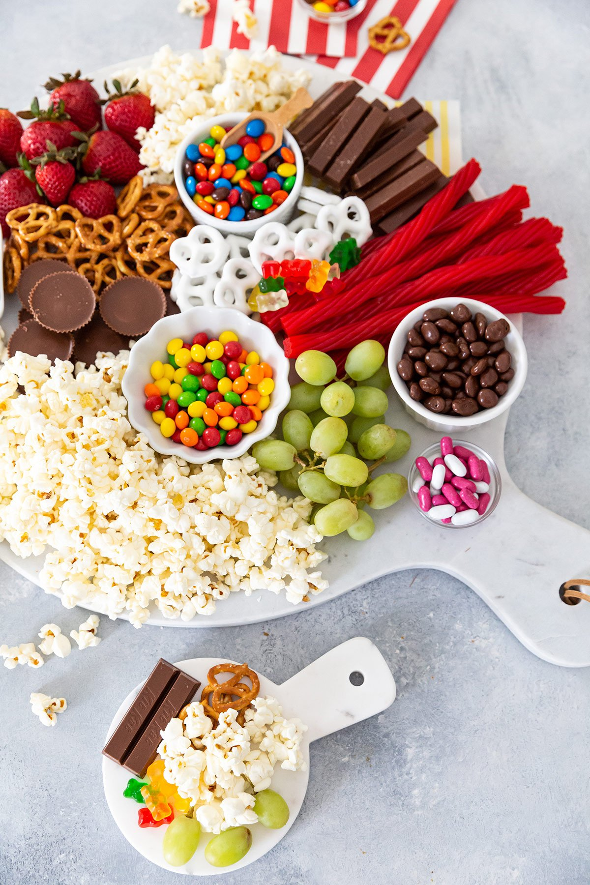 movie night snack boards