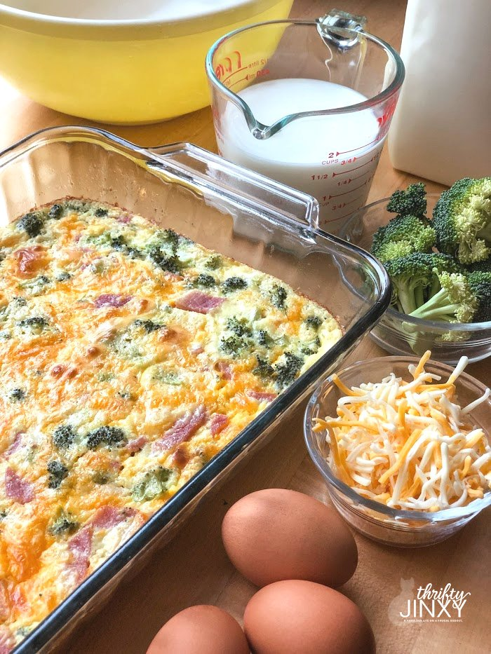 Quiche made with Bisquick