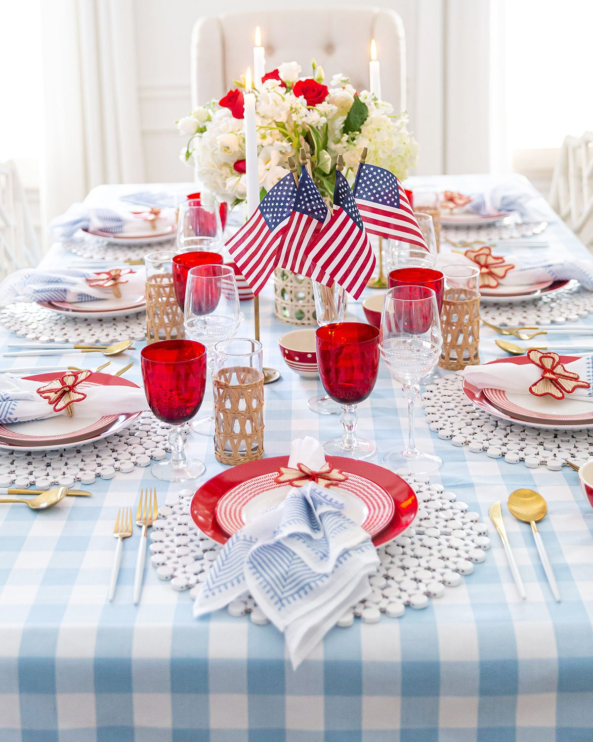 July 4th Table Decor