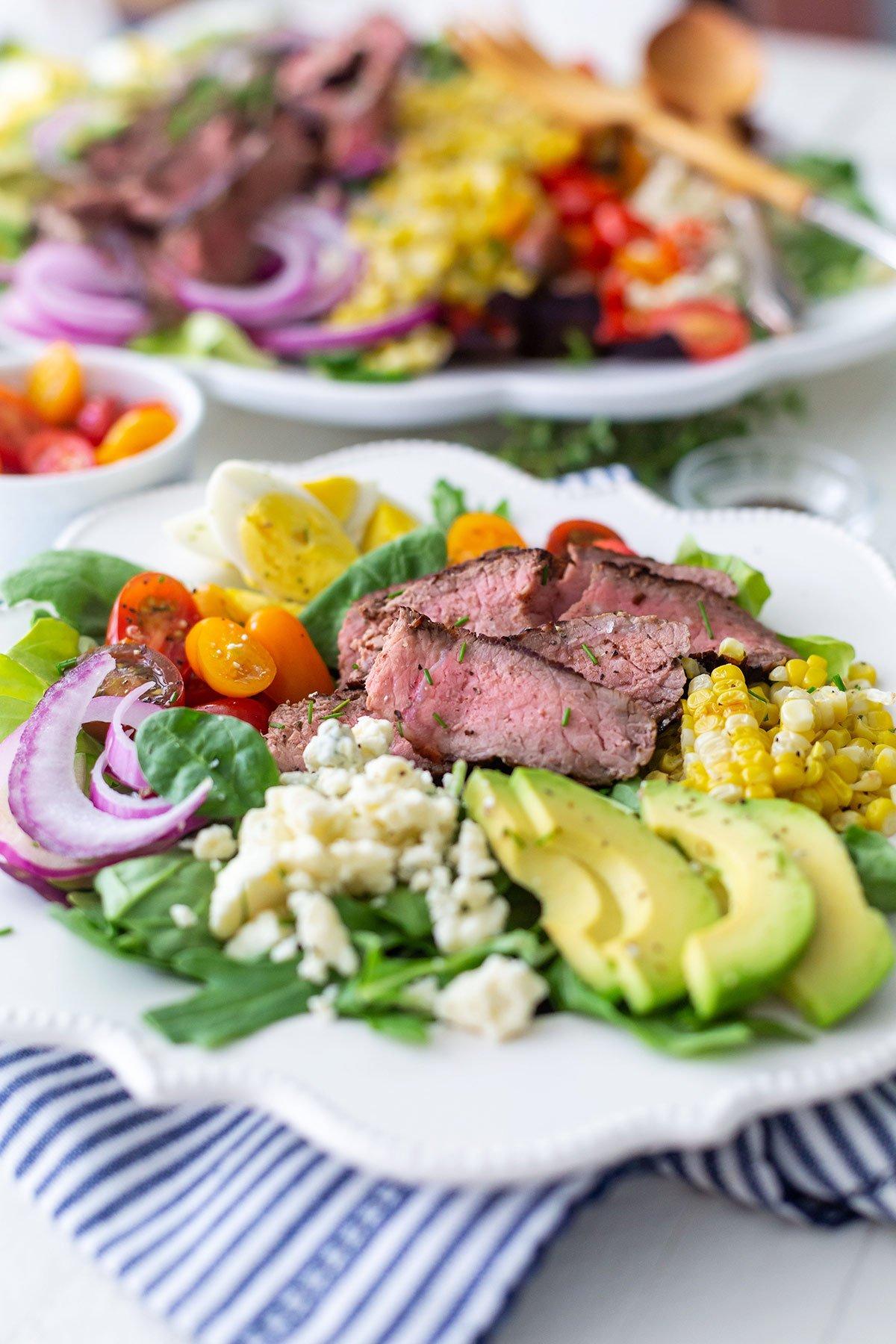 Grilled Steak Cobb Salad