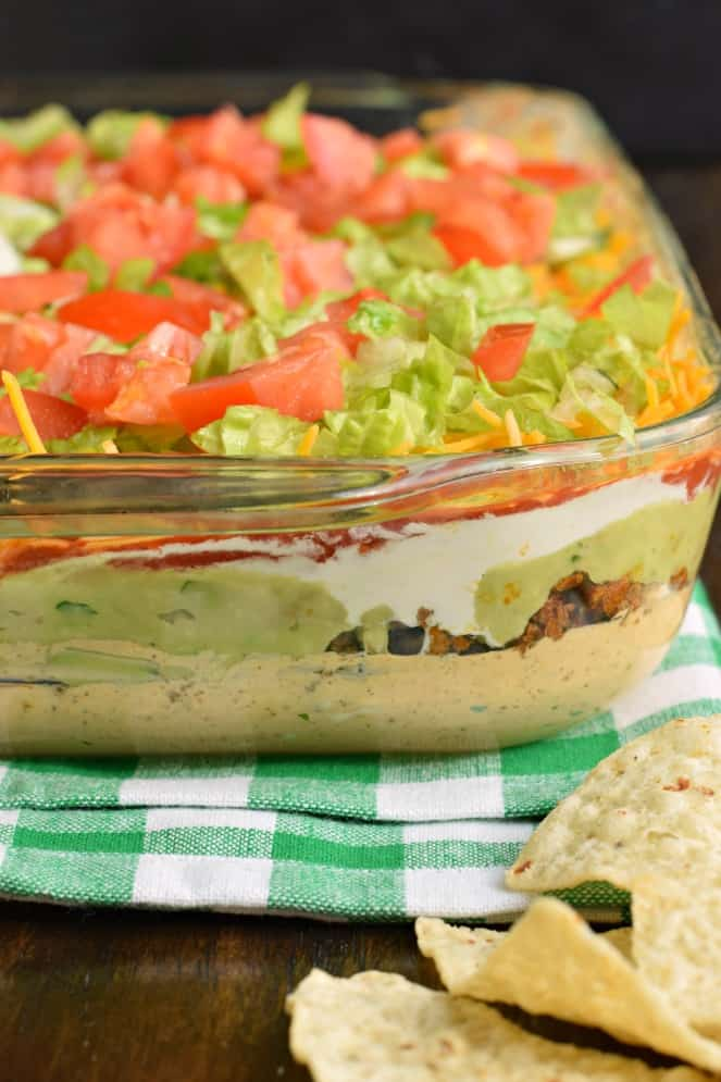 Cold 7 Layer Dip