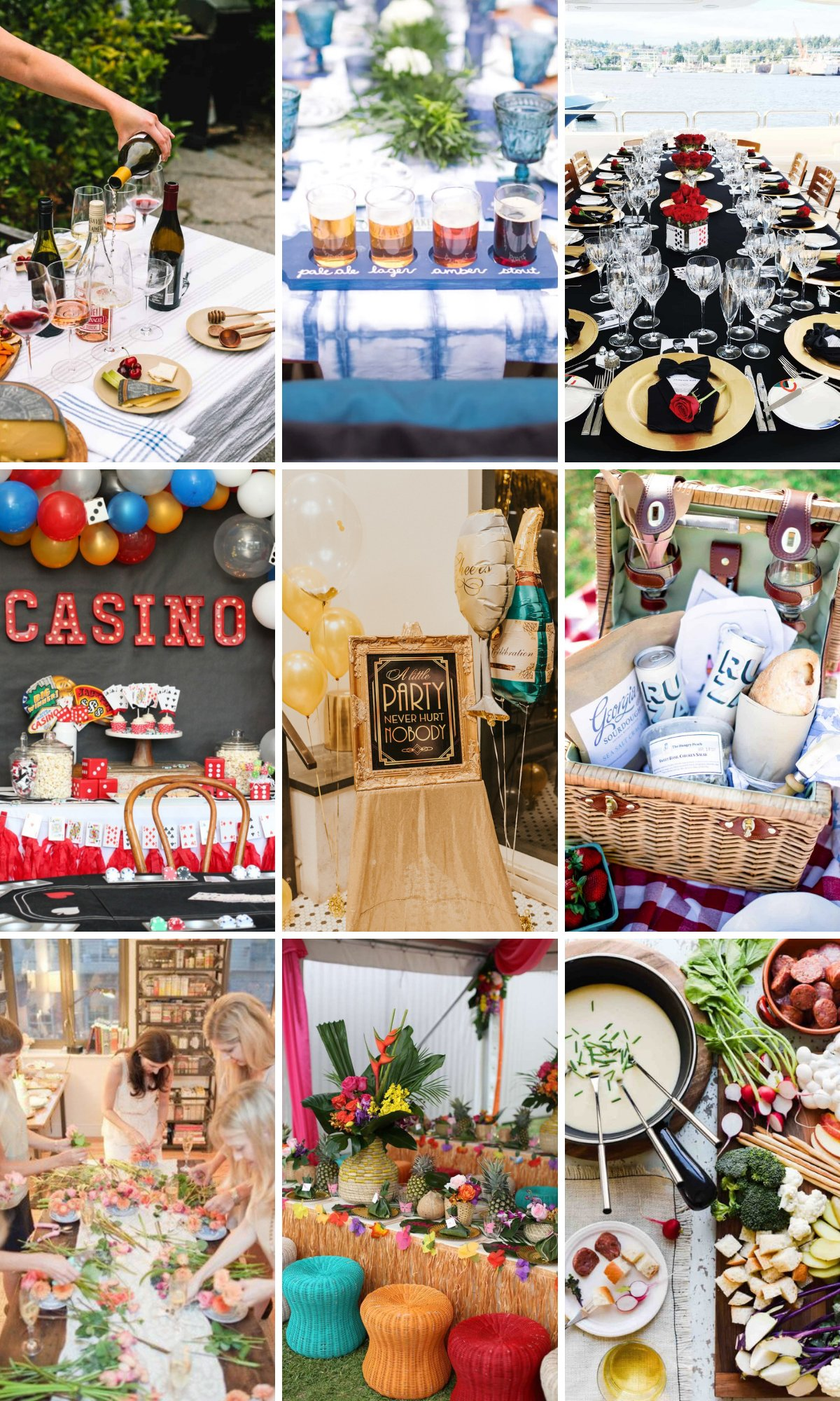 Best Party Themes for Adults (Tons of Theme Ideas)
