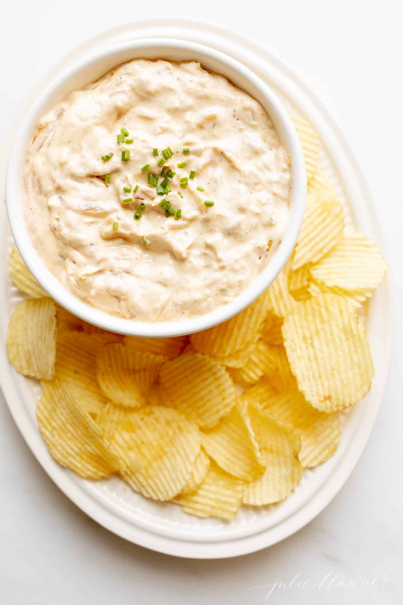 French Onion Dip, Cold Party Appetizers