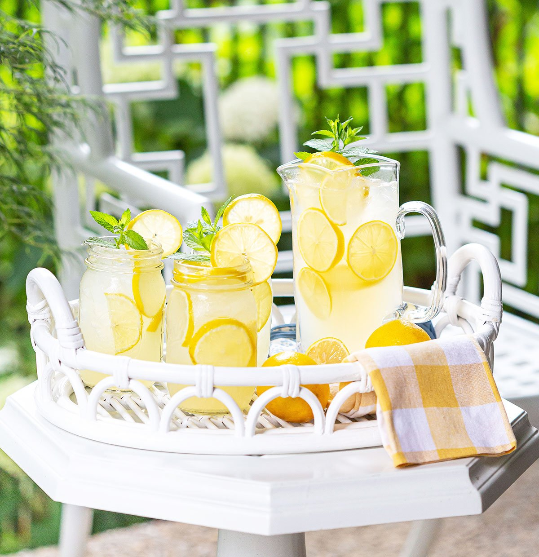 Homemade Lemonade from scratch