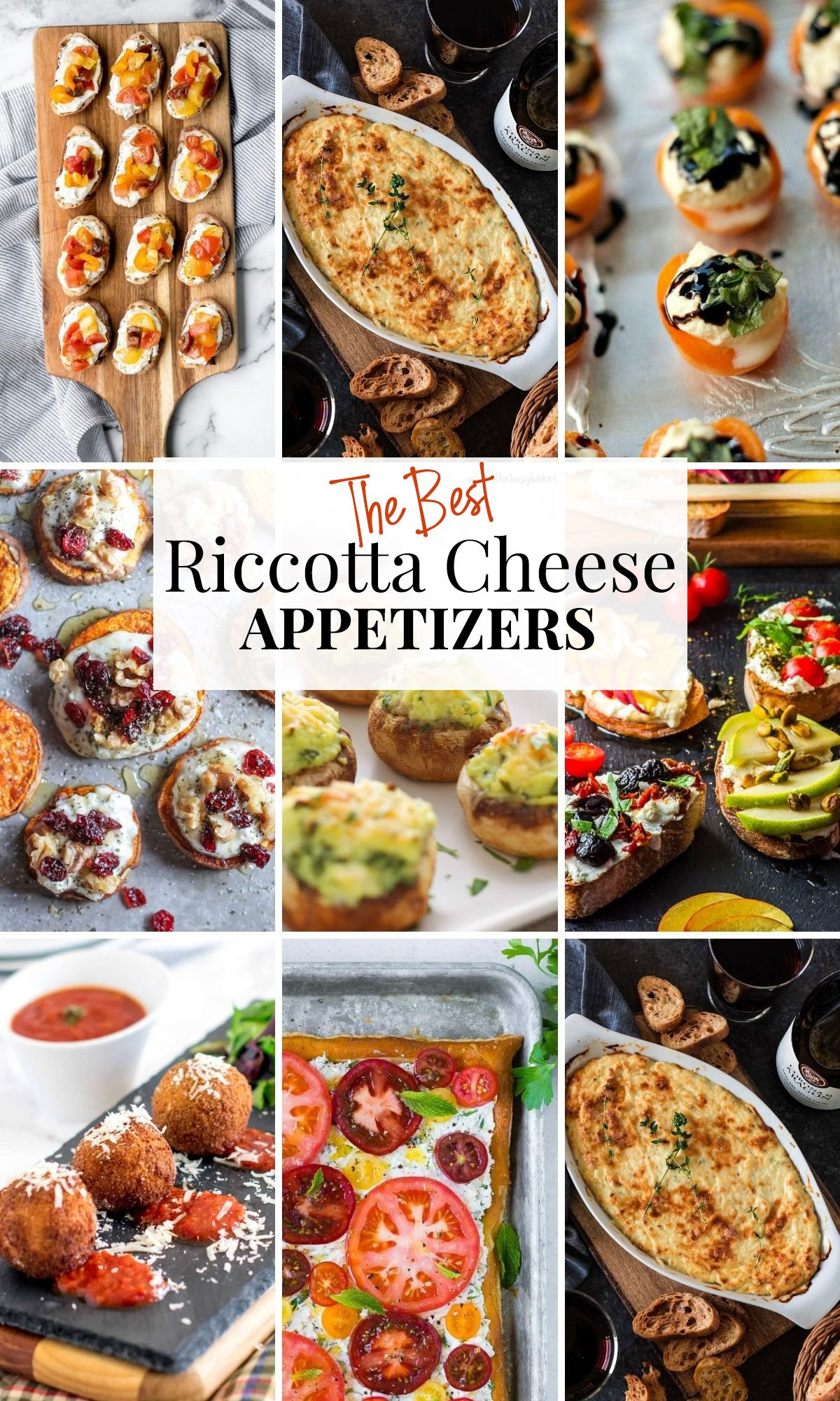 Ricotta Appetizers