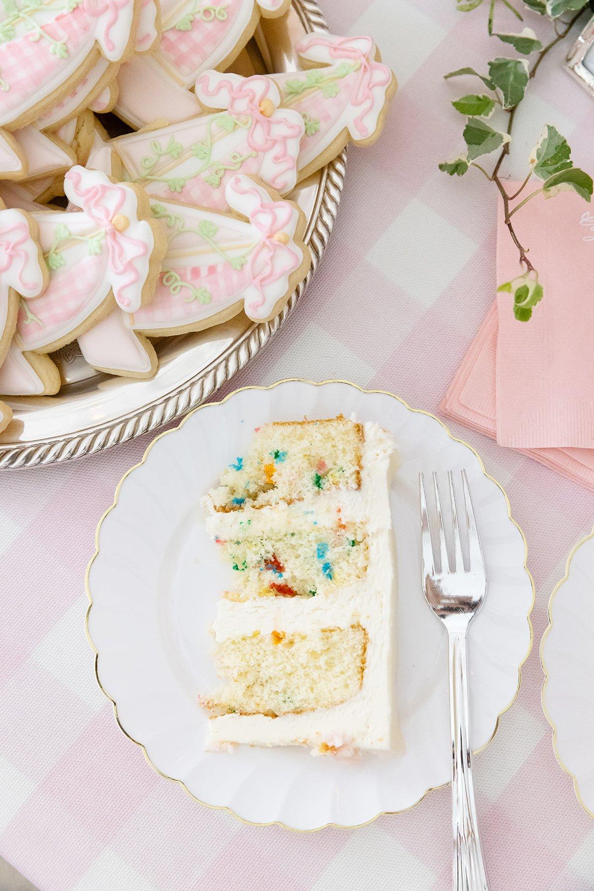 1st Birthday cake Funfetti