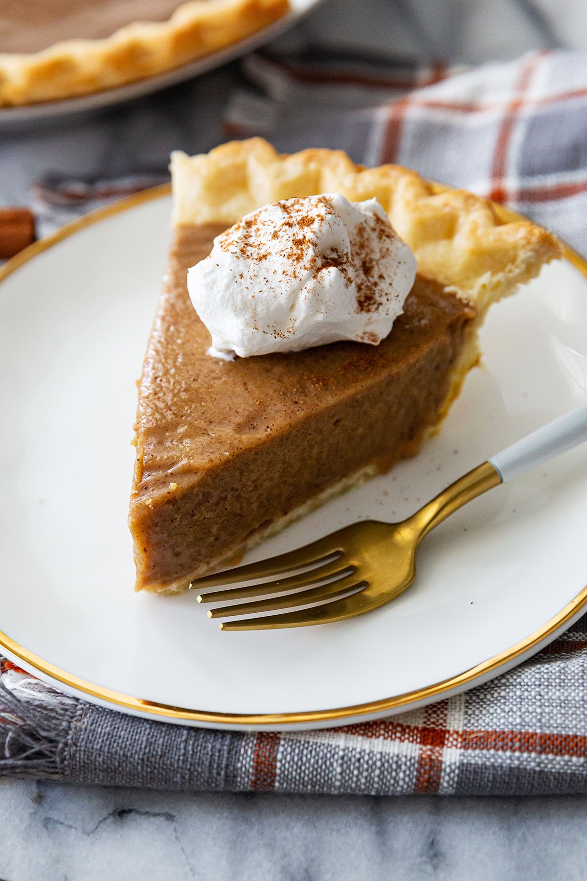 Butterscotch-Cinnamon Pie Recipe