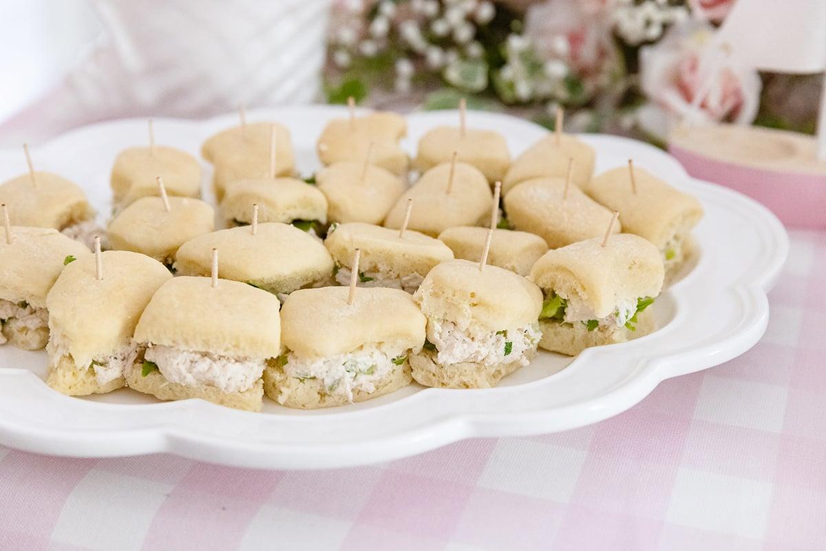 Chicken Salad Rolls