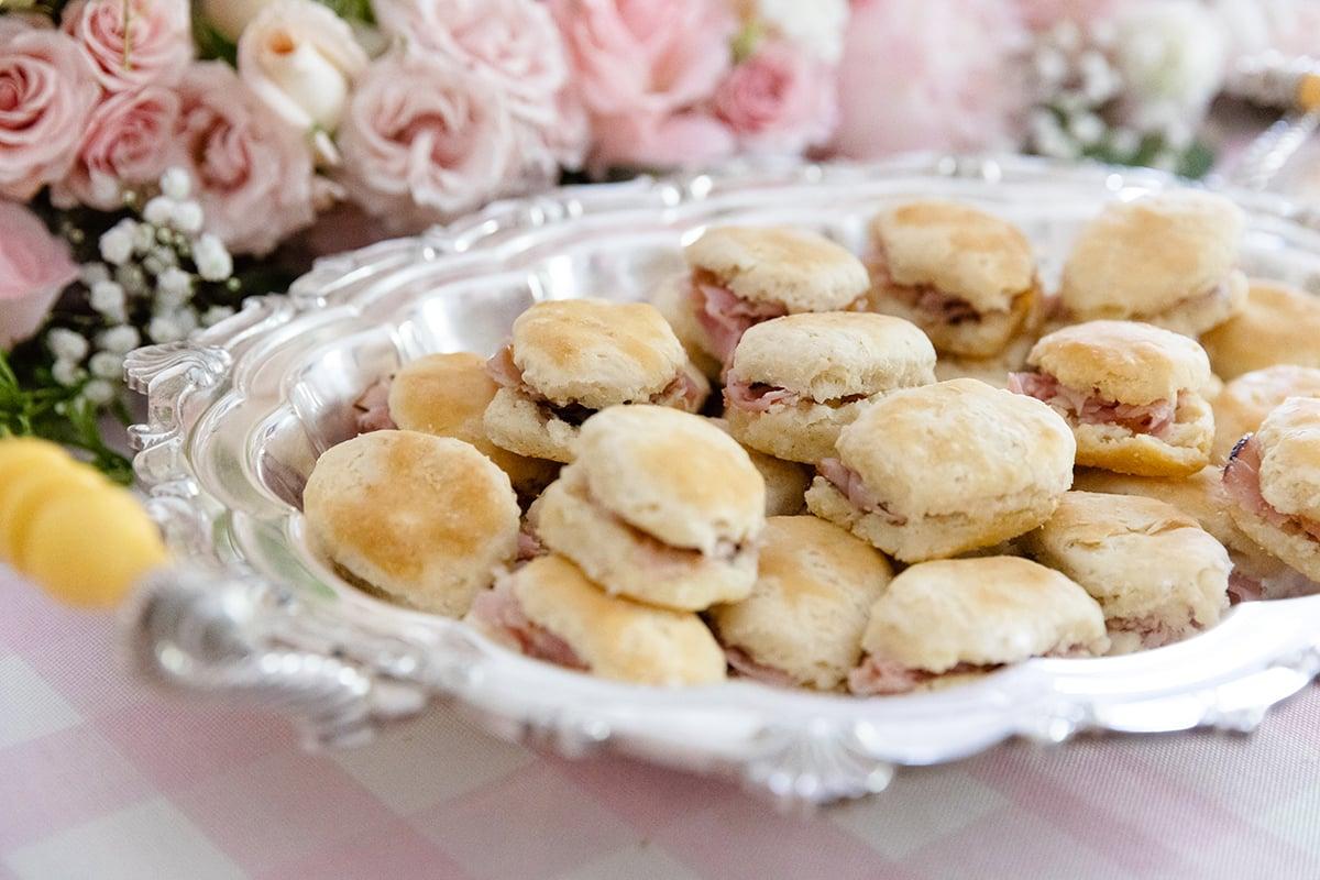 Mini Ham Biscuits