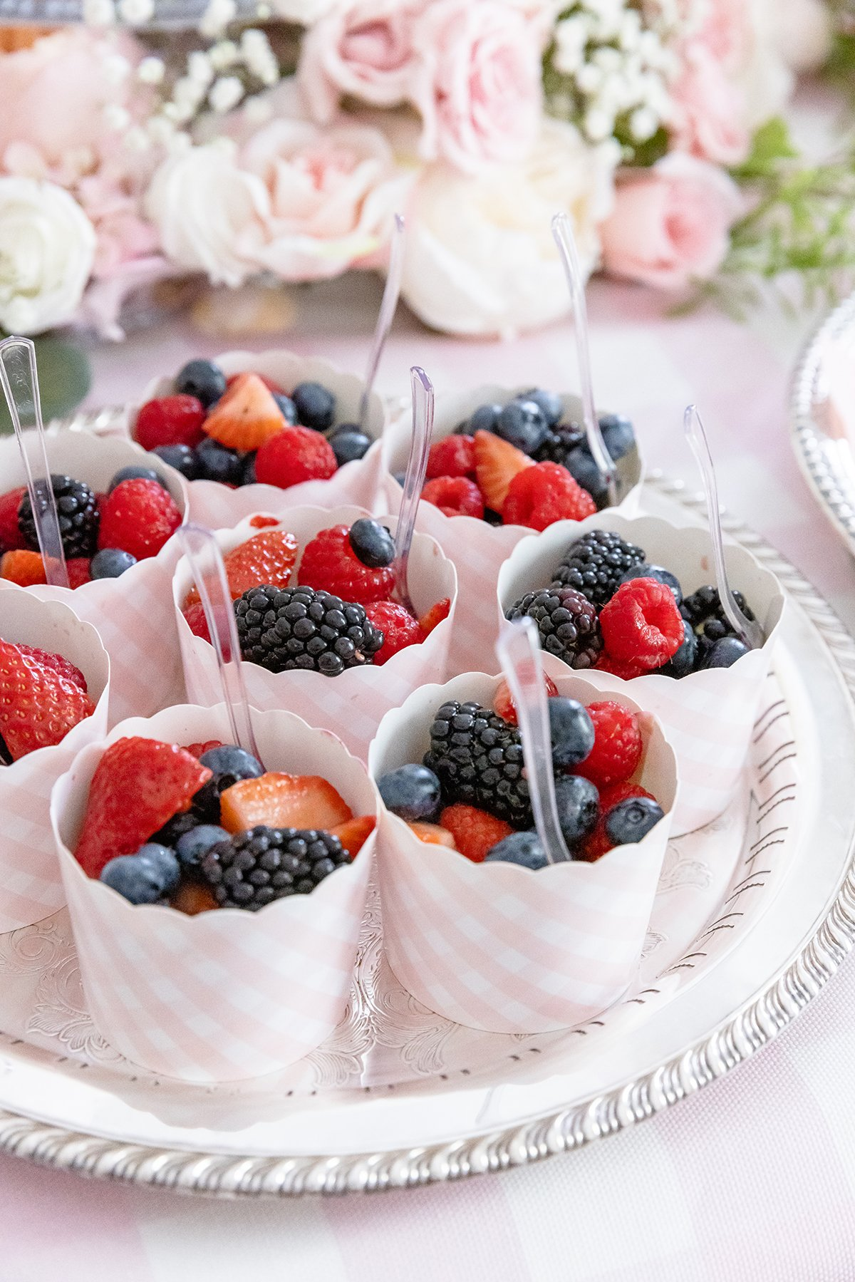 Fruit Cups for Party