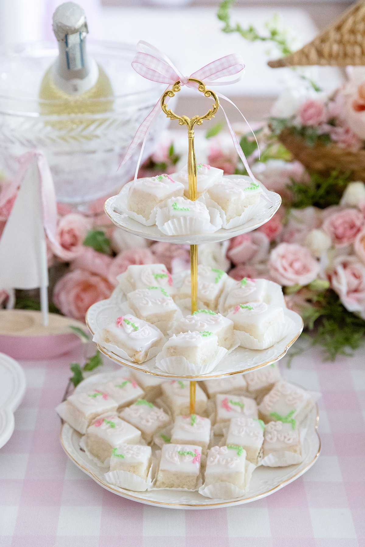 Pink Party Tray