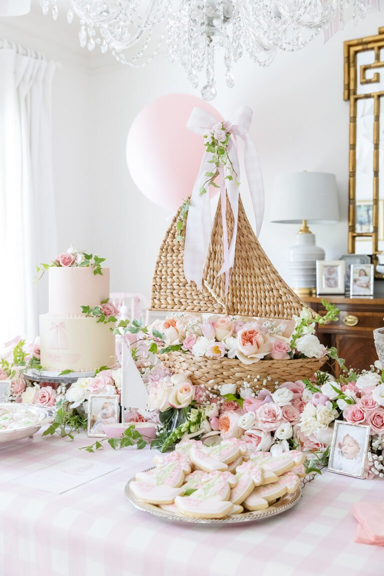 Ivy's Pink Sailboat 1st Birthday Party!