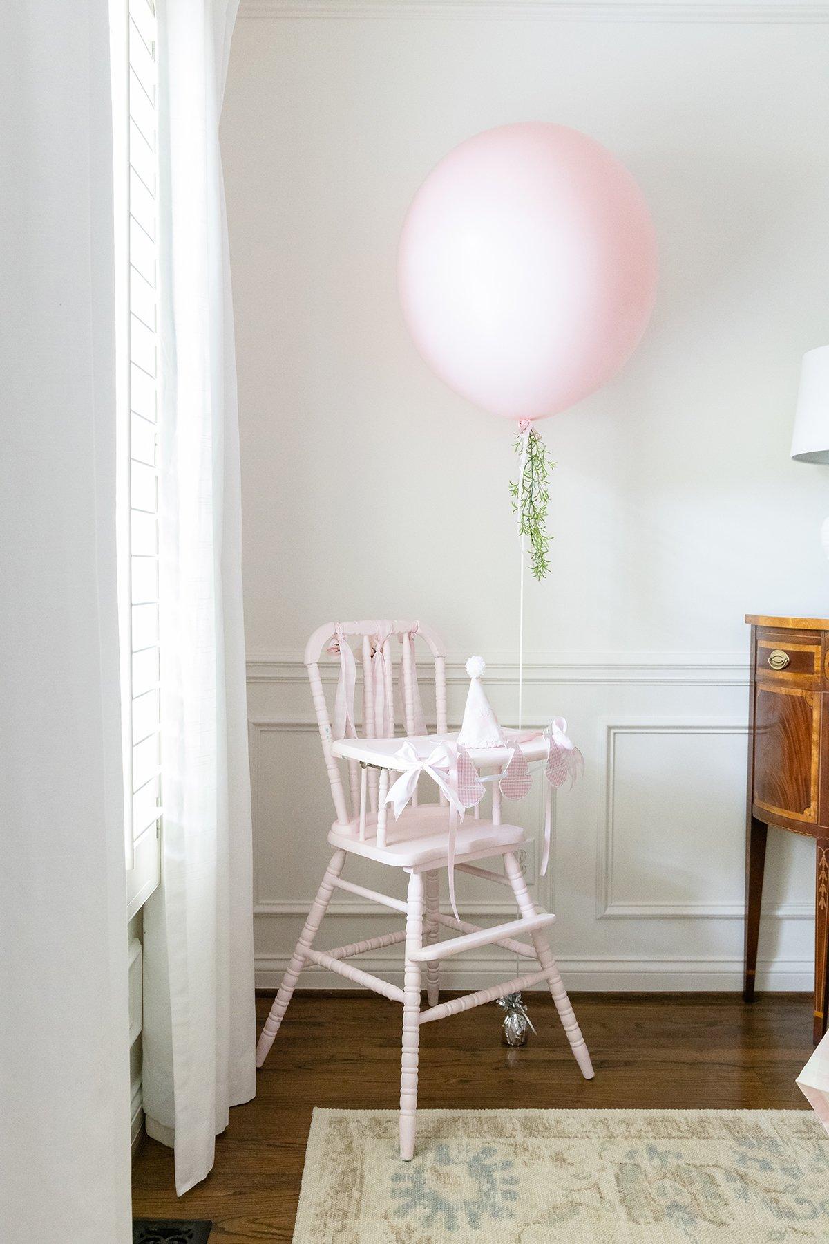 Pink High Chair