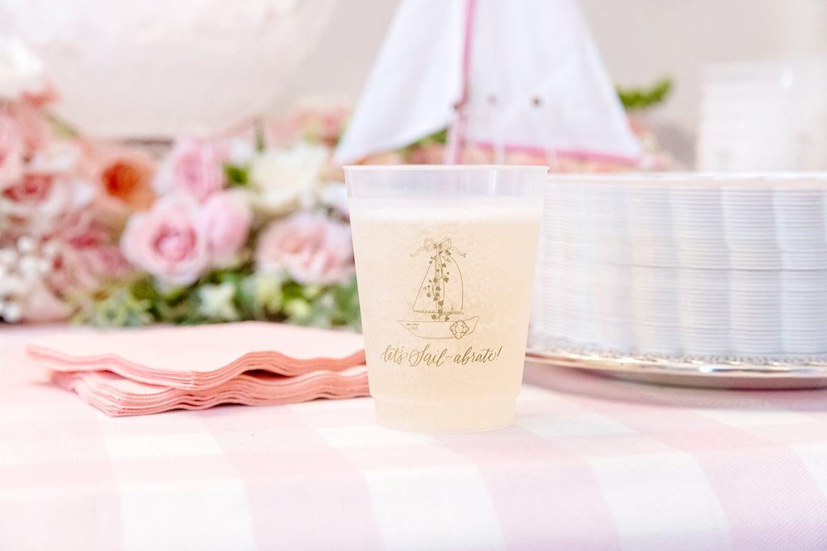 sailboat cups