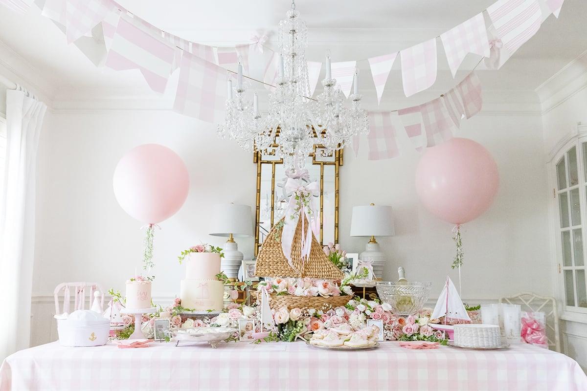 pink sailboat party