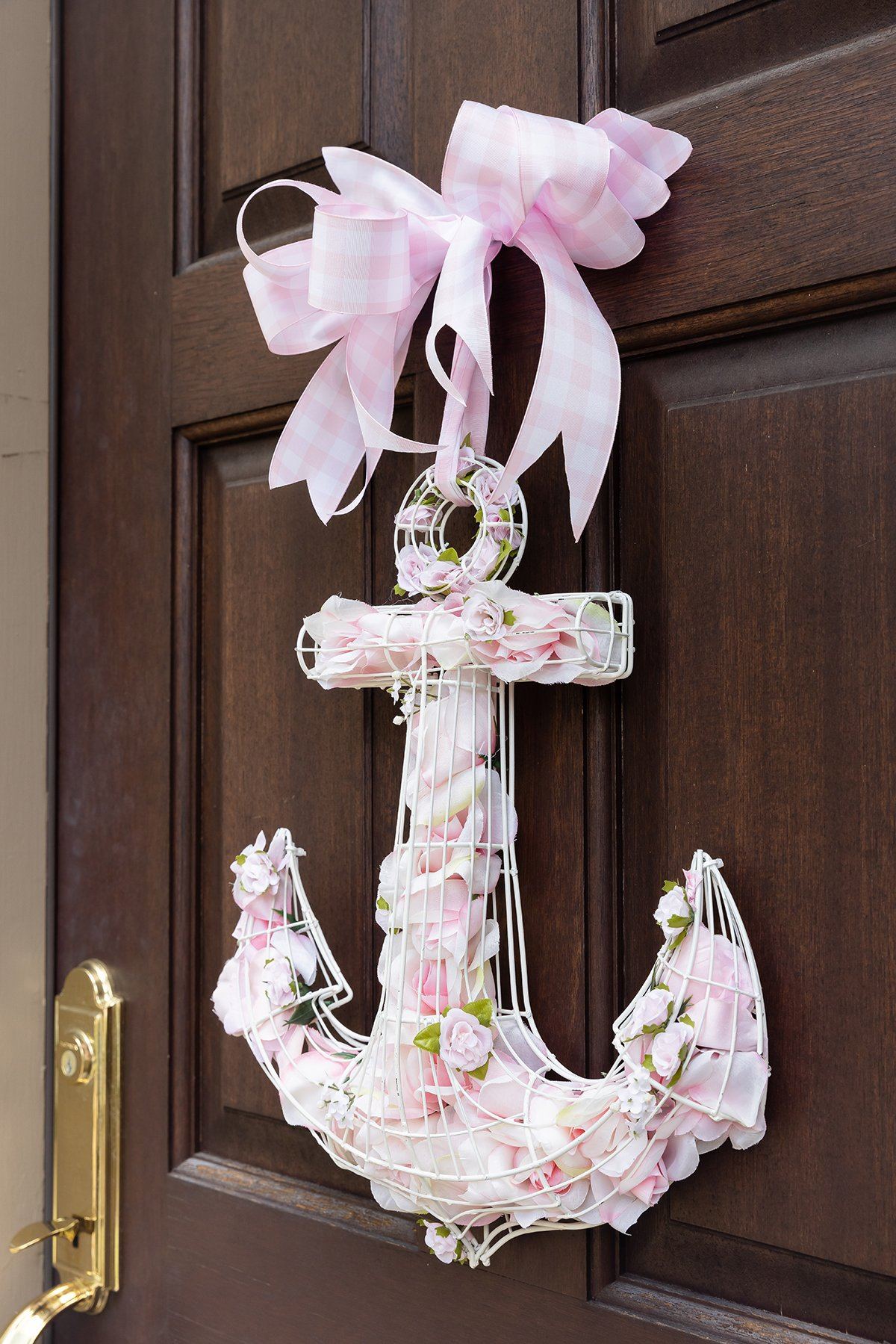 Pink Anchor Decoration