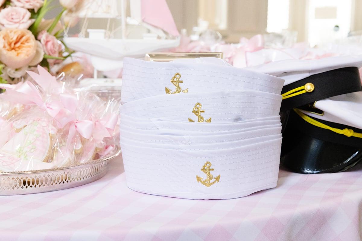 sailboat captain yacht hat