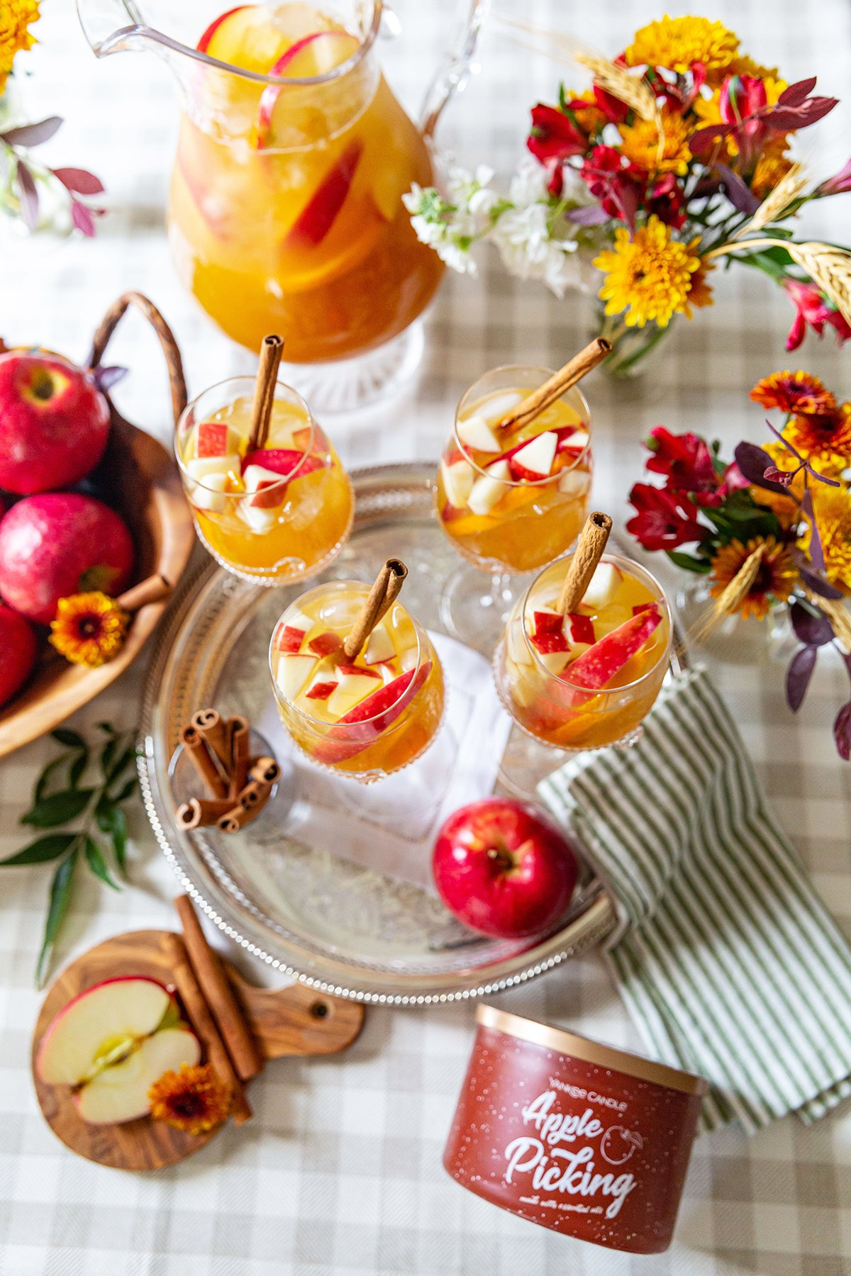 Fall Apple Cider Punch